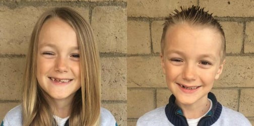 Seven-year-old boy who donated his hair to cancer survivors was diagnosed with stage 4 cancer