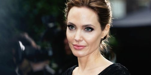 Angelina Jolie opens up about her mother's death and giving birth in Africa