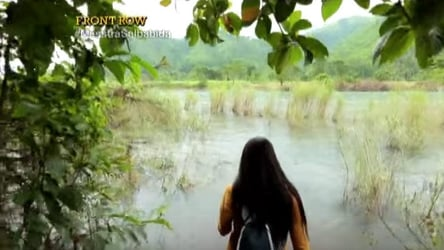 Filipina teacher braves rivers and crosses mountains daily to reach her students