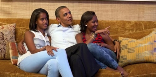 Barack Obama's hands-on parenting style is one of his most admirable achievements
