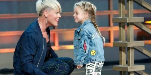"""Pink opens up about her """"tough"""" parenting style and her 5-year-old daughter's celebrity crush!"""