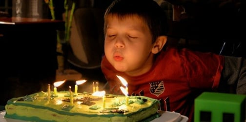 Disgusting reason never to blow out candles on birthday cakes