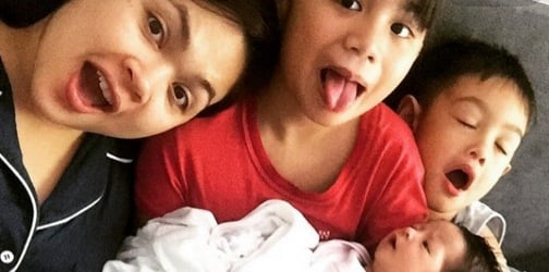 Judy Ann Santos proudly shares there's no sibling rivalry among her three kids