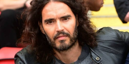 Russell Brand prepares for being a first-time daddy with parenting books
