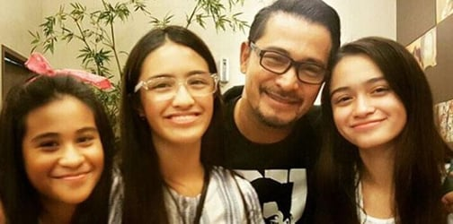 LOOK: Cesar Montano reunites with kids and what Sunshine thinks about it
