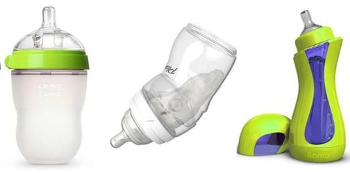 6 of the coolest baby bottles for families on the go