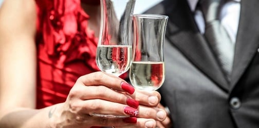 Married couples who drink together, stay together, new study says