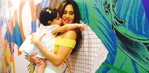 """30-Year gap no big deal for sisters Cristalle Belo and """"bunso"""" Scarlet Snow"""
