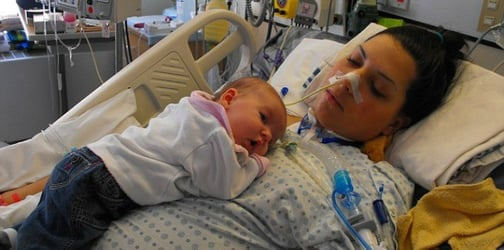 Guillain-Barre syndrome left mom paralyzed after caesarean delivery