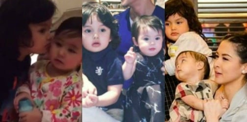LOOK: Baby Zion meets Baby Zia, Scarlet, and Olivia