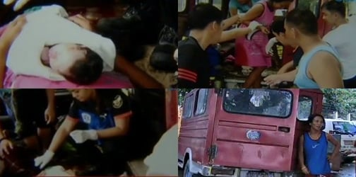 LOOK: Woman gives birth in a jeep along Agham Road in Quezon City
