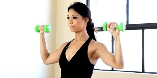 Lose your flabby arms with these simple exercises