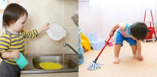 Tips and tricks for teaching your toddler responsibility