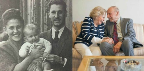 Holocaust survivors: A love story 70 years in the making