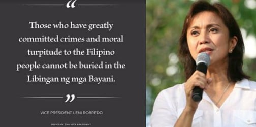 Leni Robredo on Marcos burial: 'It will only deepen unhealed wounds'