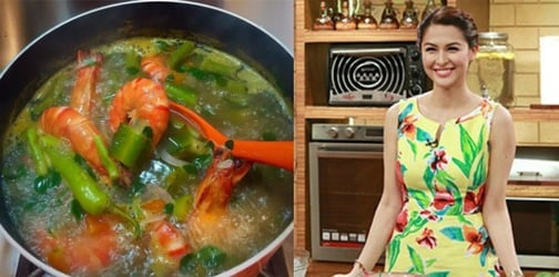 6 Sumptuous Sinigang recipes of the stars