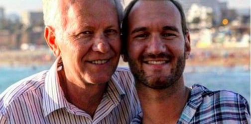 Nick Vujicic's father on raising a son without arms or legs