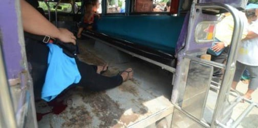 Mother shot dead inside jeepney while sons watched in horror