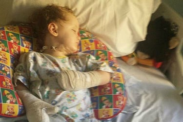 Toddler loses legs and fingers after doctors failed to spot toxic shock syndrome