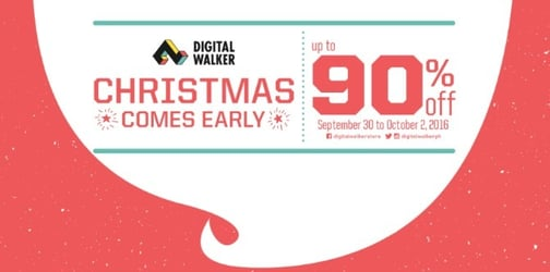 The early Christmas Digital Walker sale and other fun events this weekend