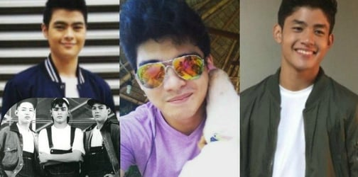 LOOK: Sons of the 90s gwapings are heartthrobs in the making