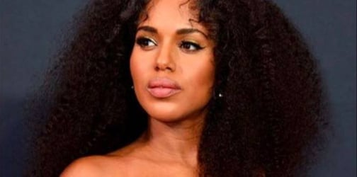 Pregnant Kerry Washington slays on the 68th Emmys red carpet
