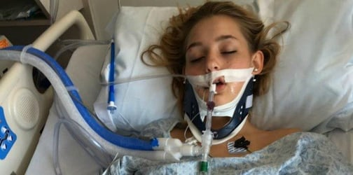 Mom warns parents against underage drinking by sharing chilling photos of daughter