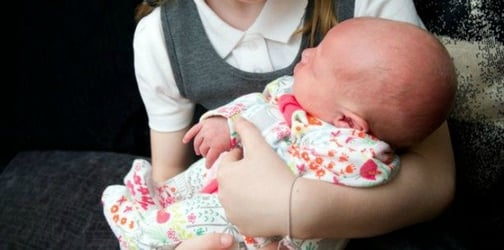 Stranger punches newborn baby in the head thinking she was a doll