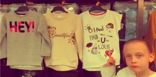 WATCH: 8-year-old girl's impassioned rant about sexism in children's clothes