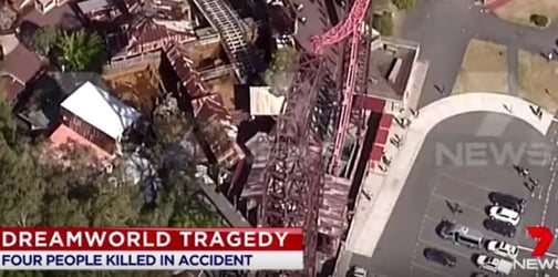 """Theme park accident : """"They saw their mothers get crushed to death"""""""