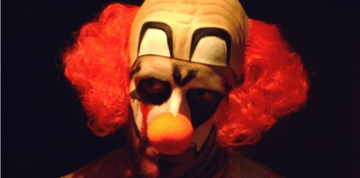 Man dressed as clown attempts to kidnap baby from mother's arms