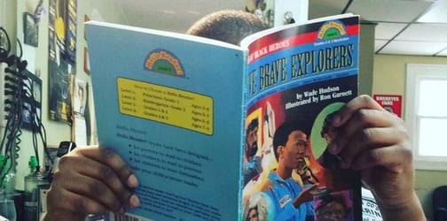 This amazing barbershop gives kids a discount if they read aloud to their barber