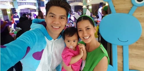 Bianca Gonzalez and JC Intal's daughter Lucia turns 1