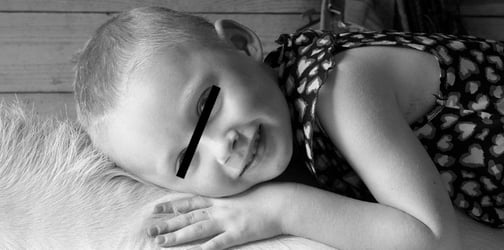 4-year-old cancer victim featured in viral photo has finally found her peace