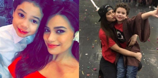 Denise Laurel is happy that her son Alejandro isn't spoiled