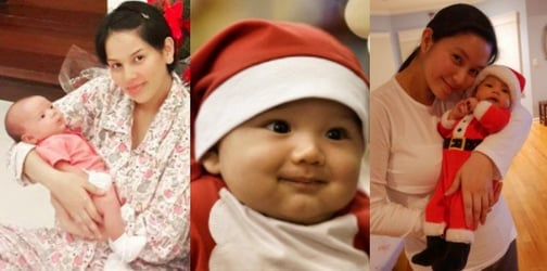 LOOK: 15 Celebrity babies celebrate their first Christmas!