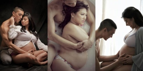 LOOK: Rufa Mae Quinto's sultry maternity boudoir shoot