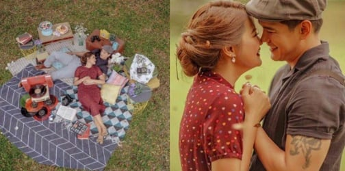 LOOK: Luis Alandy and fiancee Joselle's The Notebook-inspired prenup shoot