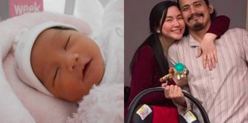 LOOK: Robin Padilla meets his baby daughter baby Isabella for the first time!
