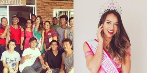 Miss New Zealand visits her Pinay mom's relatives in Pangasinan