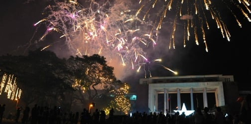 Reports say that there are fewer firecracker injuries during New Year's celebrations