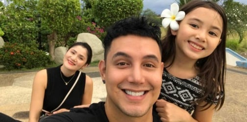 LOOK: Paolo Ballesteros's daughter Keira Claire comes home!