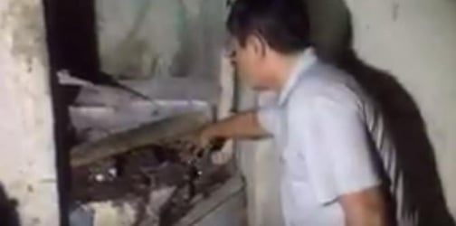 Authorities made a grisly discovery in an abandoned house in Quiapo
