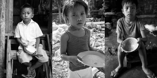 Meet Cedrick, Dexter, and Vanessa: 3 of the 7 Million Filipino children suffering from hunger and malnutrition daily