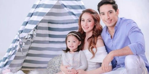LOOK: Cristine Reyes and Ali Khatibi's adorable first family shoot