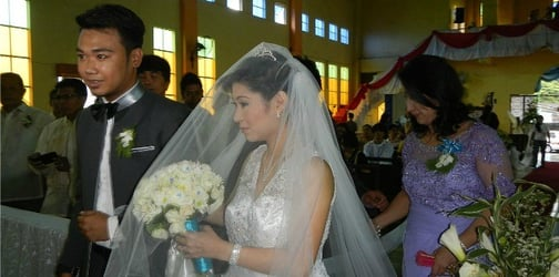 Marriage in the Philippines is on a 'continuous decline', according to statistics