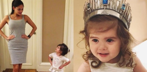 WATCH: Pia Wurtzbach teaches 2-year-old niece Lara how to be a beauty queen