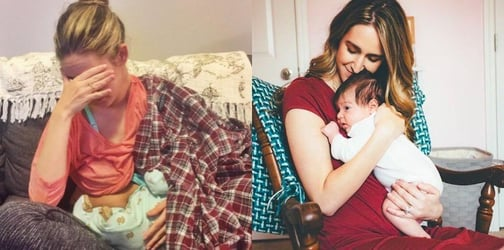 Mom's heartfelt post will give comfort to any mom who's ever struggled to breastfeed