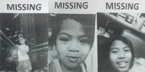 4 young girls kidnapped by white van in Taguig
