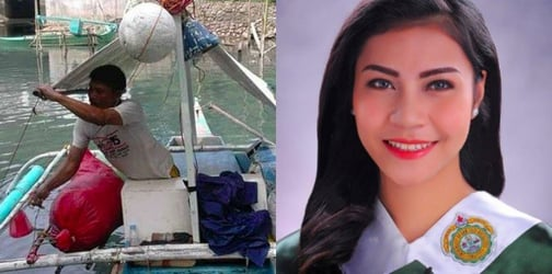 Meet the fisherman's daughter who's graduating from college with magna cum laude honors